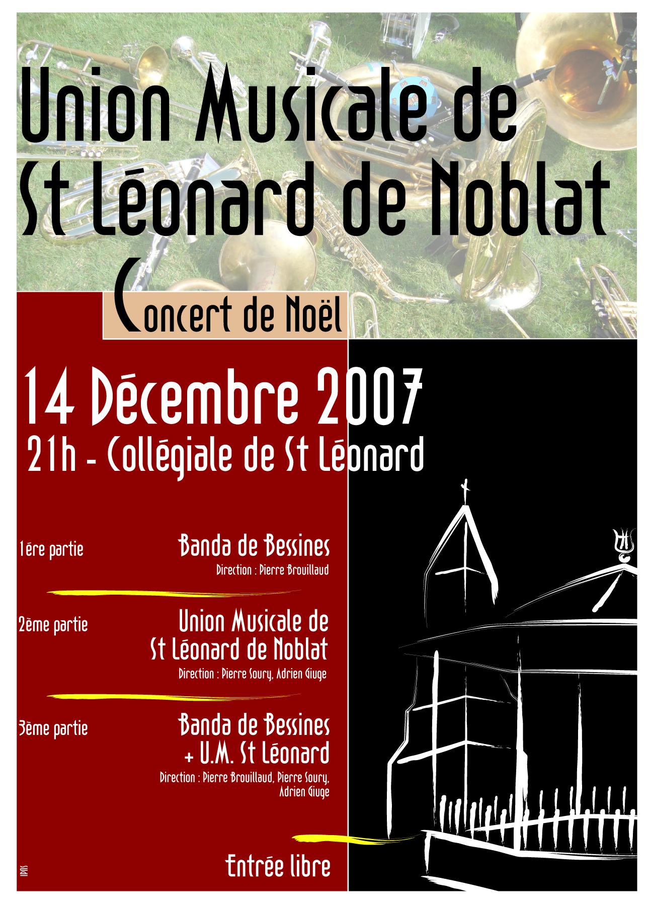 Concert de Noël dans Non classé affichea4